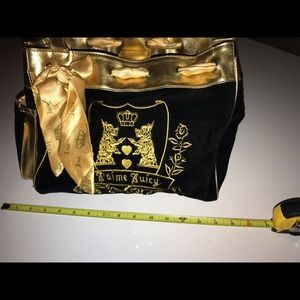 Juicy Couture Daydreamer Bag   Color: Black/Gold